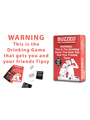 Buzzed First Expansion Pack Party Game