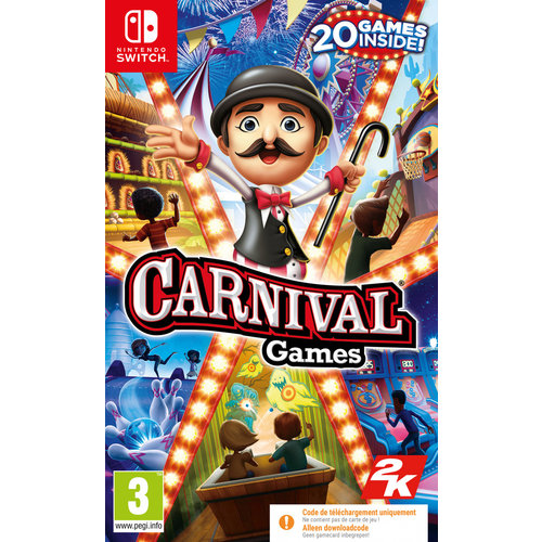 TakeTwo Carnival Games (Code in Box) (Nintendo Switch)