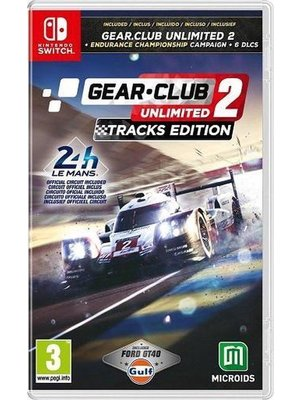 MindScape Gear.Club Unlimited 2: Tracks Edition Le Mans 24h (Nintendo Switch)
