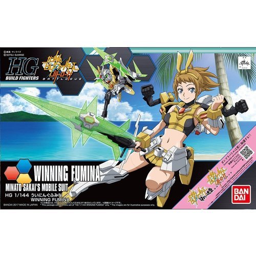 Bandai Gundam Build Fighters HG 1/144 Winning Fumina Model Kit 062