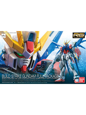Bandai Gundam Build Fighters RG 1/144 Build Strike Full Pack Model Kit