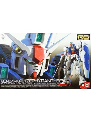 Bandai Gundam RG 1/144 GP01 Zephyranthes Model Kit