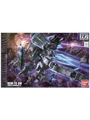 Bandai Gundam HG 1/144 Thunderbolt RGM-79 GM Model Kit