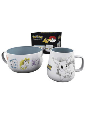 Pokemon Eevee Breakfast Set