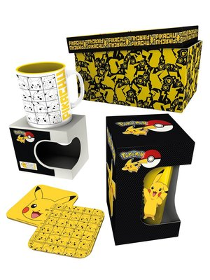 Pokemon Gift Box Pikachu Mug / Glas