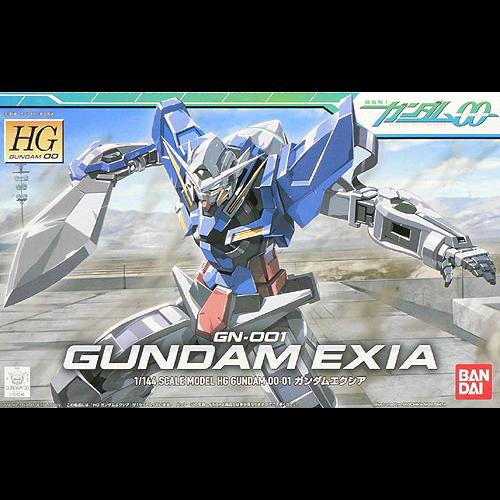 Gundam HG 1/144 Exia Model Kit 13cm 01