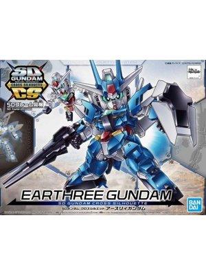 Bandai Gundam SD Cross Silhouette Earthree Gundam Model Kit 15