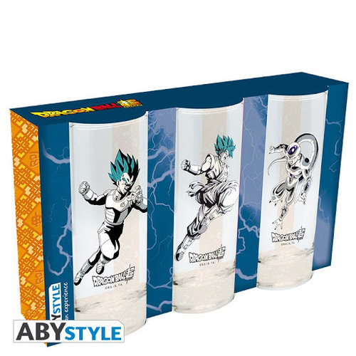 Abystyle Dragon Ball Super Glass Set of 3