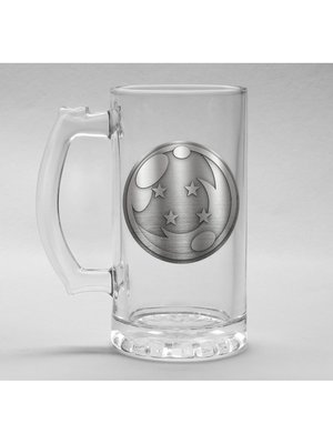 Dragon Ball Z Metal Badge Dragon Ball Beer Glass 500ml