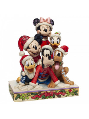 Disney Traditions Disney Traditions Piled High with Holiday Cheer (Mickey and friends Figiurine)