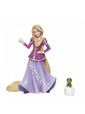 Disney Showcase Disney Showcase Collection Holiday Rapunzel with Pascal Figurine