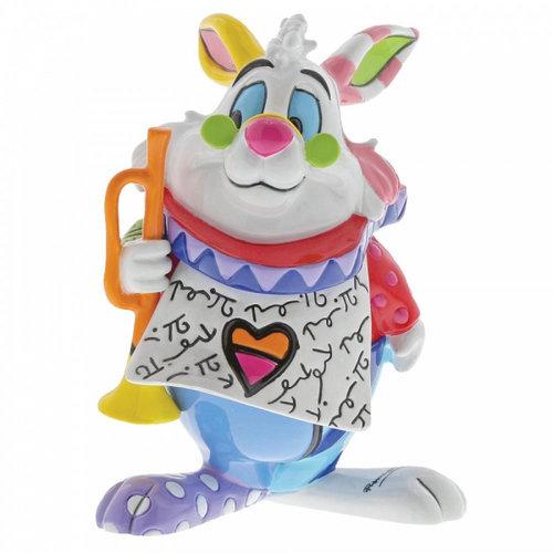 Disney Britto Disney Britto White Rabbit Mini Figurine