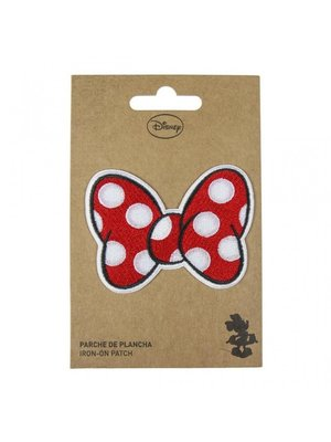 Cerda Disney Minnie Mouse Bow Iron On Patch
