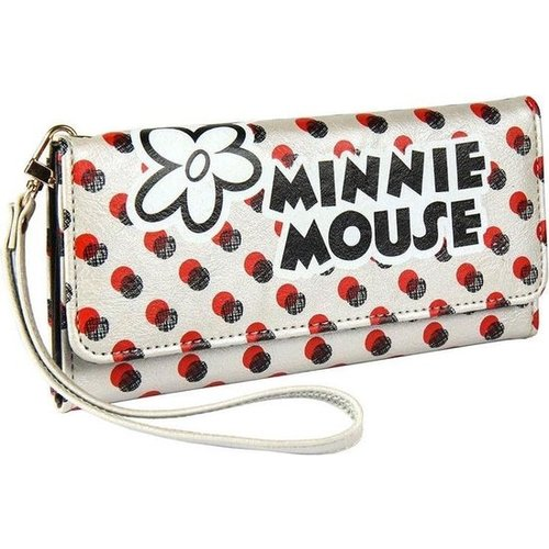 Cerda Disney Minnie Mouse Wallet Silver