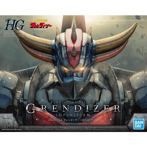 Bandai Grendizer HG 1/144 Infiniti Model Kit 20cm