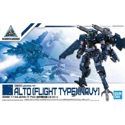 Bandai Gundam 30MM 1/144 eEXM17 Alto Flight Type Navy Model Kit 15