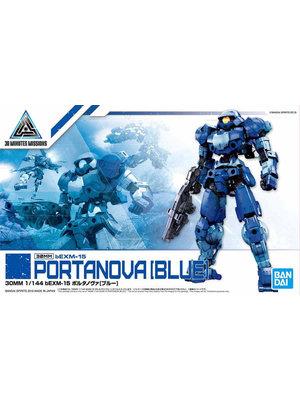 Bandai Gundam 30MM 1/144 bEXM15 Portanova Blue Model Kit 08