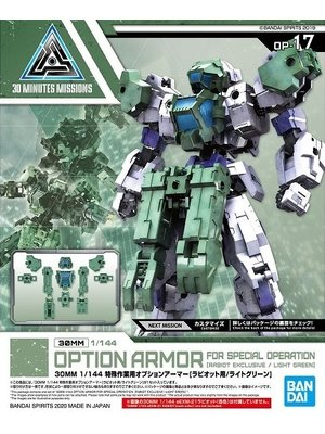 Bandai Gundam 30mm Option Armor 17 For Special Op Detail Set Model Kit