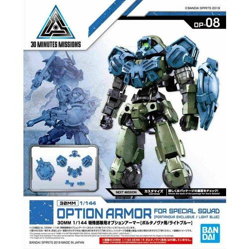 Bandai Gundam 30mm Option Armor 8 For Special Squad Detail Set Model Kit