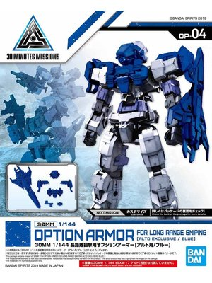 Bandai Gundam 30mm Option Armor 4 Long Range Sniping Detail Set Model Kit