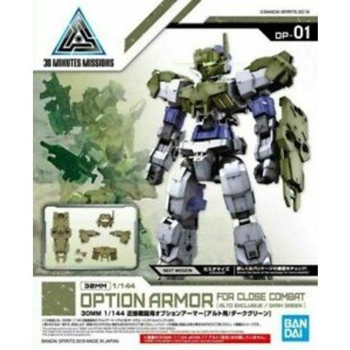 Bandai Gundam 30mm Option Armor 1 For Close Combat Detail Set Model Kit