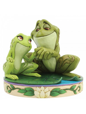 Disney Traditions Disney Traditions Amorous Amphibians (Tiana and Naveen as Frogs Figurine)