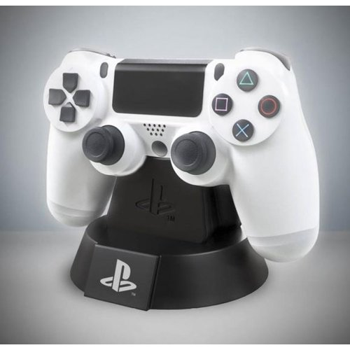 Playstation White PS4 Controller Icon Light