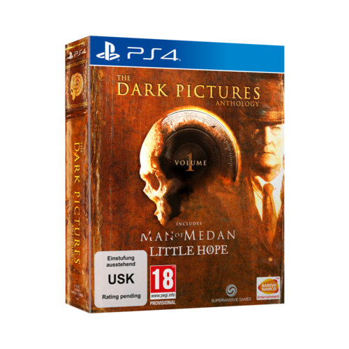 Bandai Namco The Dark Pictures Anthology: Volume 1 (includes Man of Medan + Little Hope) (PS4)