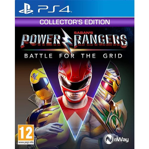 MindScape Power Rangers: Battle for the Grid - Collector's Edition (PS4)