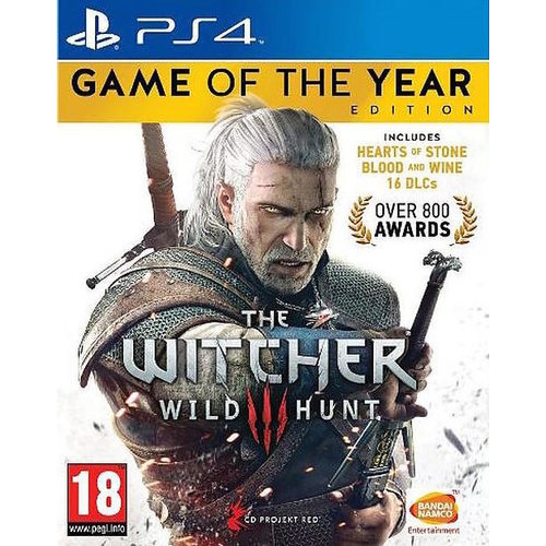 Bandai Namco The Witcher 3: Wild Hunt (GOTY Edition) (PS4)