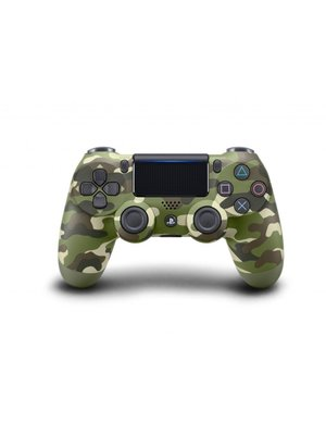 Sony PS4 Wireless Dualshock 4 Controller V2 - Green Camo
