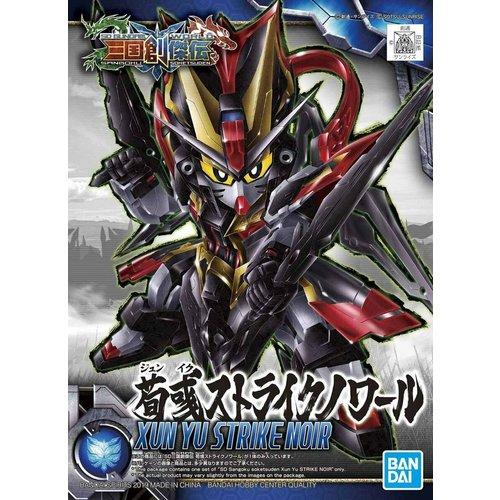 Bandai Gundam SD Sangoku Soketsuden Xun Yu Strike Noir Model Kit 8cm 25