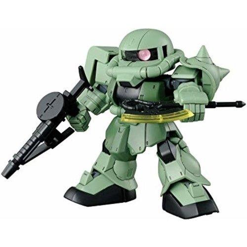 Bandai Gundam SD Cross Silhouette Zaku 2 Model Kit 8cm 04
