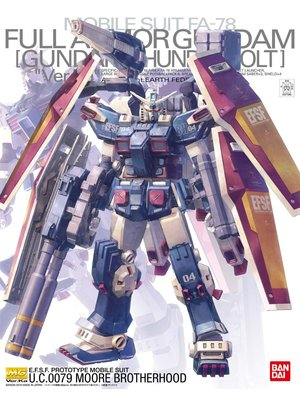 Gundam MG 1/100 FA-78 Full Armour Gundam Thunderbolt Model Kit