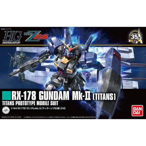 Bandai Gundam HGUC 1/144 RX-178 Gundam MK-II Titans Model Kit 194