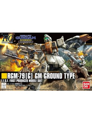 Bandai Gundam HGUC 1/144 RGM-79(G) GM Ground Type Model Kit 13cm 202