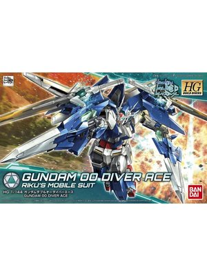Bandai Gundam HGBD 1/144 Gundam OO Diver Ace Riku Mobile Suit Model Kit 009