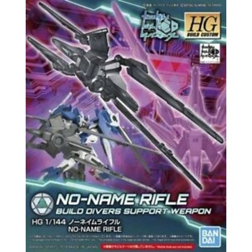 Bandai Gundam HGBC 1/144 No-Name Rifle BD Support Weapon Model Kit 045