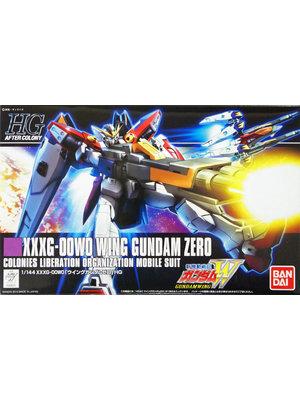 Bandai Gundam HGAC 1/144 XXXG-000W0 Wing Gundam Zero Model Kit 13cm 174