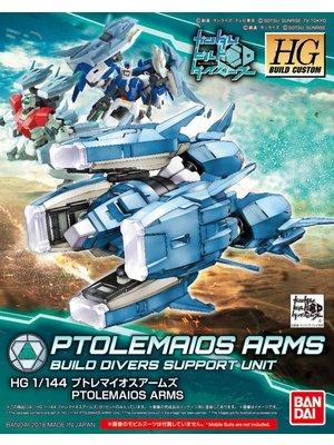 Bandai Gundam HG Build Custom Ptolemaios Arms Build Divers Support Model 039