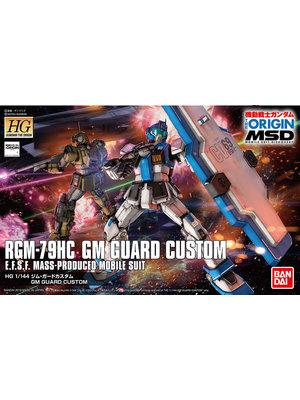 Bandai Gundam HG 1/144 The Origin RGM-79HC GM Guard Custom Model Kit 022