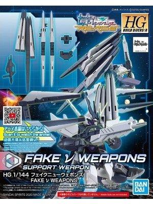 Gundam BD HGBD:R 1/144 Fake V Weapons Model Kit 030