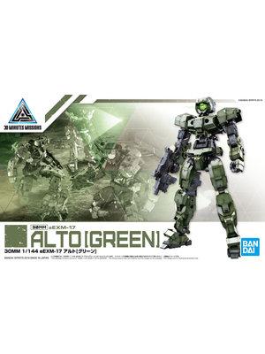 Gundam 30MM 1/144 eEXM17 Alto Green Model Kit 11