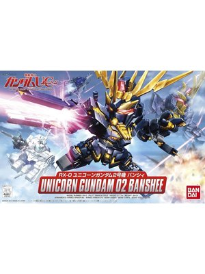 Gundam BB Gundam Unicorn 02 Banshee Model Kit 380