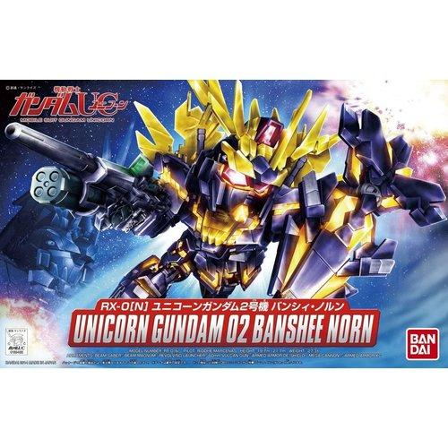 Gundam BB391 Unicorn Gundam 02 Banshee Norm Model Kit 8cm