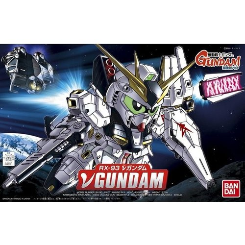 Gundam BB387 Nu Gundam Model Kit 387