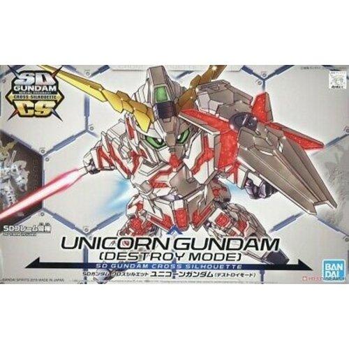 Bandai Gundam SD Cross Silhouette Unicorn Gundam 03 Phenex DM Nv