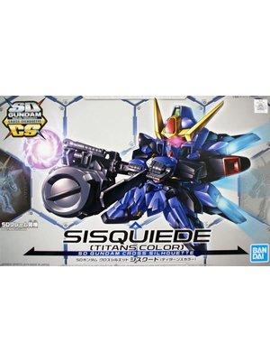 Bandai Gundam SD Cross Silhouette Sisquiede Titans Color Model Kit 10