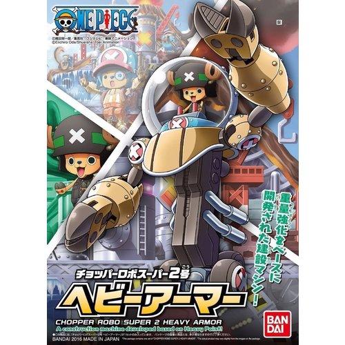 Bandai One Piece Chopper Robo Super 2 Heavy Armor Model Kit 10cm