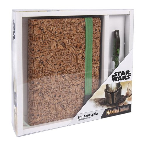Star Wars The Mandalorian The Child Gift Set Notebook & Pen